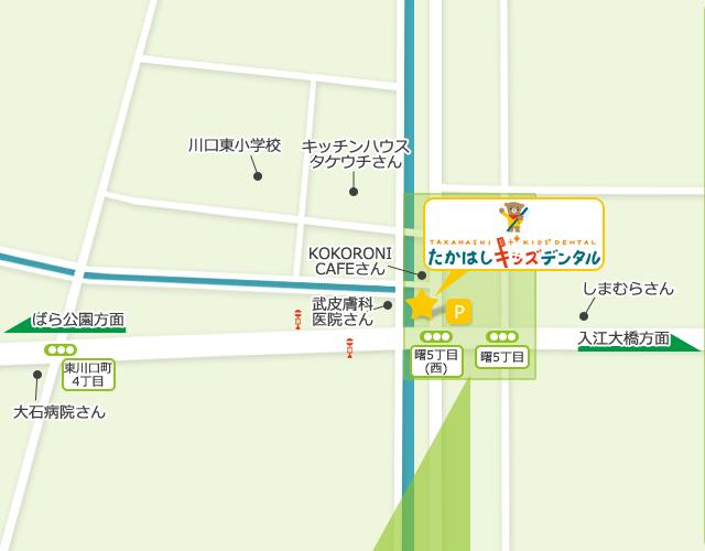 周辺詳細地図